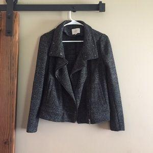 Ann Taylor Loft Soft Tweed Blazer Jacket size XS